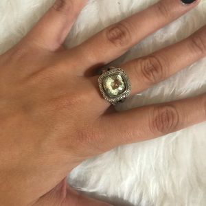 David Yurman Albion Ring with Diamond - Size 7